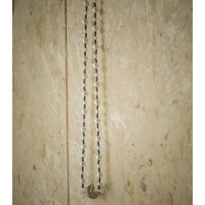 Vintage ketting met parel (faux) luxe