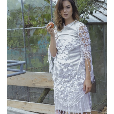 Vintage wollen jurk