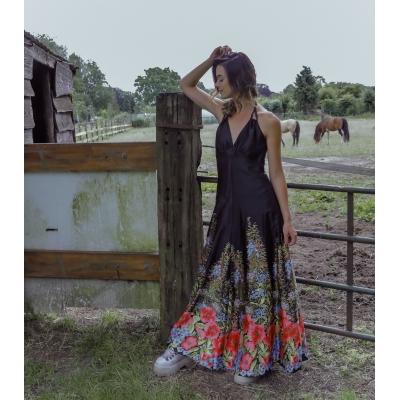 Vintage maxi jurk