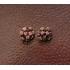 vintage clip oorbellen 50S/60S