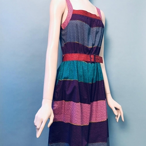 Vintage jurk (70s/80s) van Betty Barclay ( MT 36)