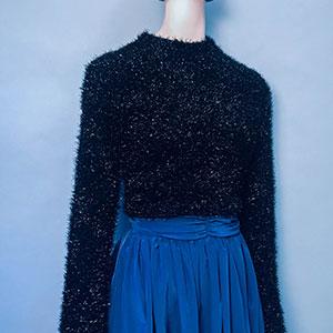 Vintage trui NIEUW (70s/80s) met wijde mouwen ( MT XS/S)