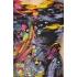 Kleurrijke vintage top met abstracte print (MT S)