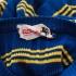 Vintage trui (60s/70s) met korte mouw ( 4 - 5 jaar)