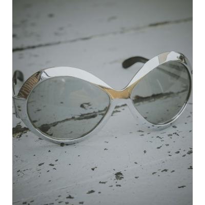 Vintage Polaroid zonnebril