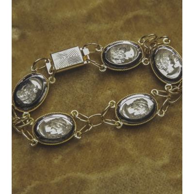 Armband met Romeinse afbeelding