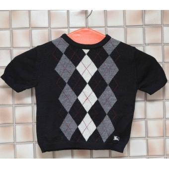 Vintage Burberry trui met korte mouw (4-5 jaar)