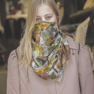 Mondkapje met Jago sjaal
