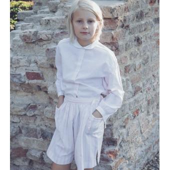 Vintage set van blouse en short van Cacharel ( 7-8 jaar)