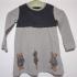 Vintage Moncler jurk met beertjes ( 2 - 3 jaar)
