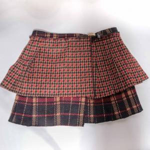 Omslag- rok met plooien van Miss Grant ( 7 - 8 jaar)