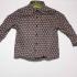 Vintage Cacharel blouse met speels patroon ( 2 - 3 jaar)