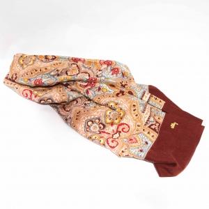 Vintage Oilily sjaal bruin variant