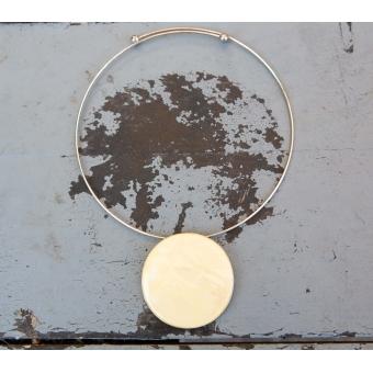 Vintage statement ketting met grote hanger