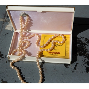 Vintage parel- ketting ( Mariko collection)