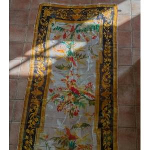 Vintage designer sjaal van Gianfranco Ferre wol - zijde mix