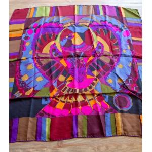 Vintage sjaal van het luxe designer label Ken Scott