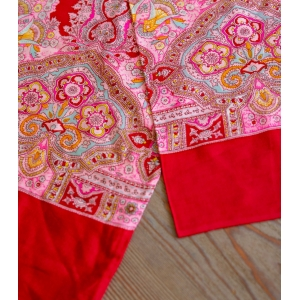 Vintage Oilily sjaal roze variant