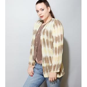 Vintage blouse 2-laags (MT M)
