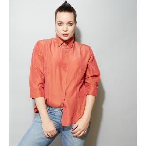 Vintage 'Verse' blouse volledig van zijde (MT M/L)