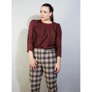 Vintage glitter top - blouse (MT L/XL)