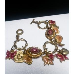 Luxe vintage armband in romantische stijl