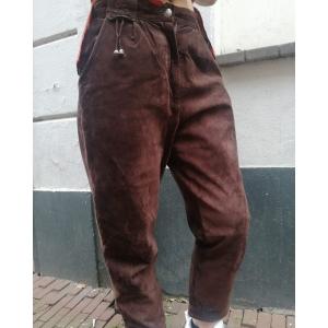 Vintage broek van suede (MT M)